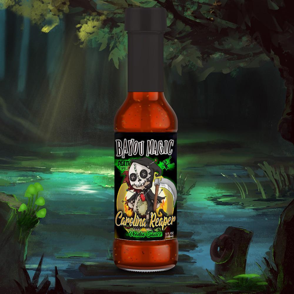 Bayou Magic Foods Death Spell Carolina Reaper Flavor Voodoo Sauce